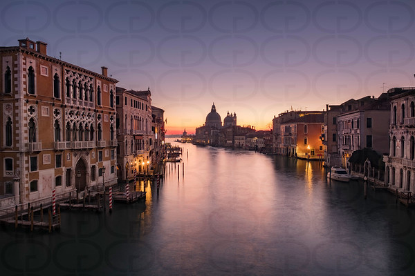 The Coming of Morning on the Grand Canal