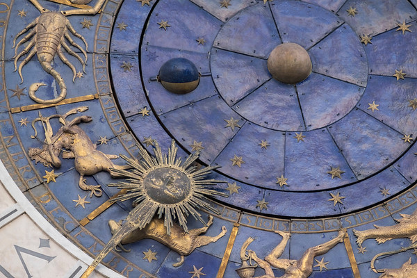 The Clock of Torre dell'Orologio
