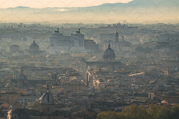 The Morning Haze of Rome
