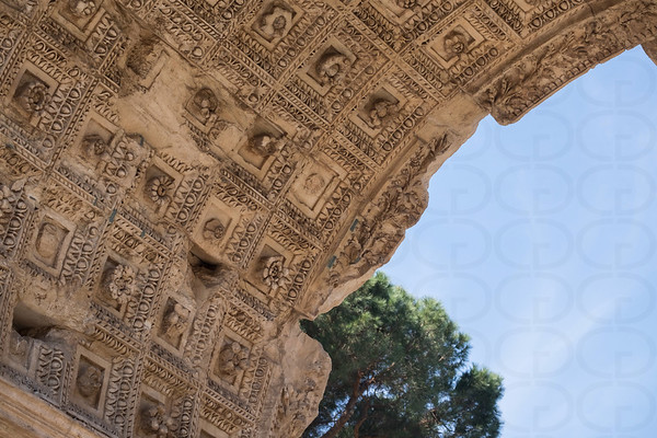 Detail: Arch of Titus