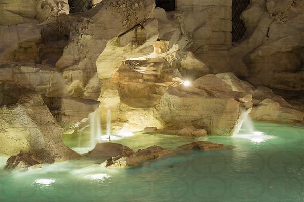 Detail: Trevi Fountain