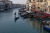 Morning Traffic on the Grand Canal