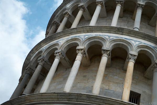 Leaning Pillars