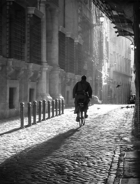 Monk on a Bicycle