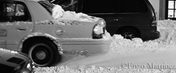 Taxi-peeling-out-on-snow