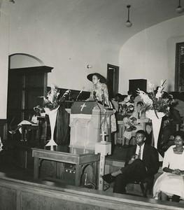 NAACP Mass Meeting, August 28, 1960