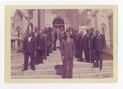 Rutledge Pearson With Black Ministers