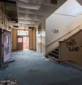 The death of a neighborhood: Inside Public School #8