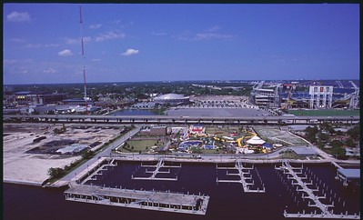 Jacksonville from the River Aerials – 15