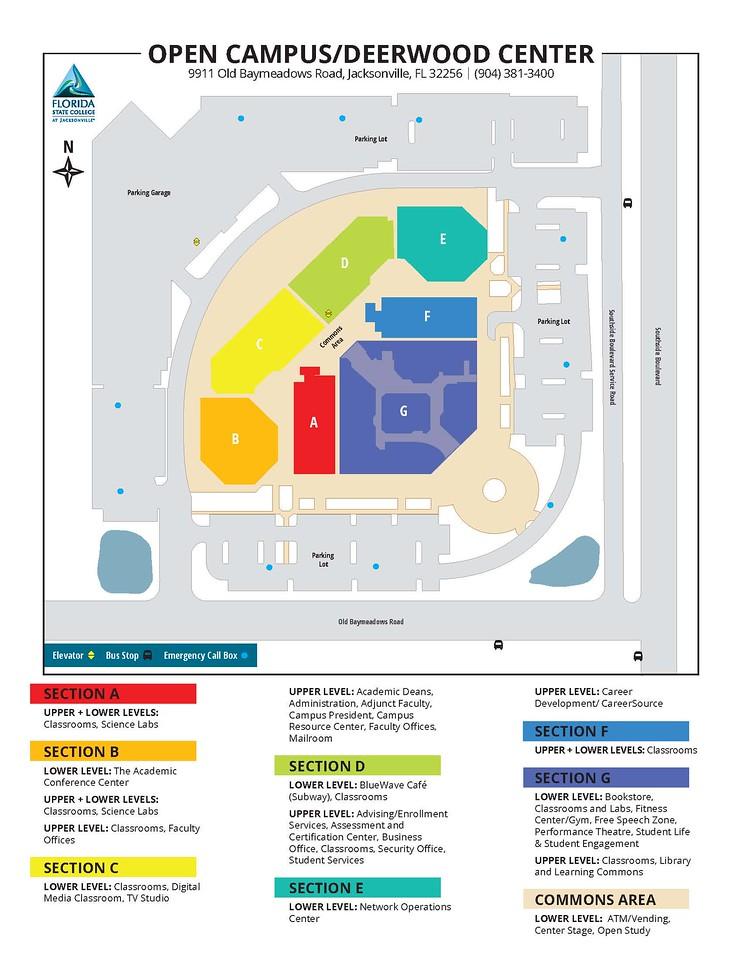 Fscj Deerwood Campus Map | Straitsolutions