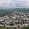 View of Johnstown from the top of the incline