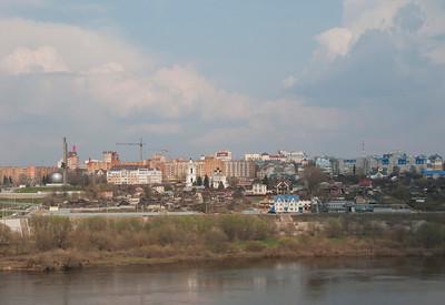 Kaluga. View from the far bank-3