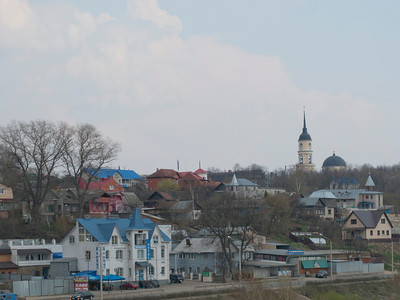 View from Oka to Church of the Intercession on the moat.-3