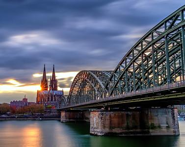 Köln Dom Sunset