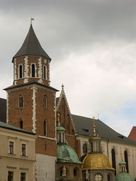bell tower, Wawel Cathedral, Cracow (09-2007)<br /> Konica Minolta Dimage A2