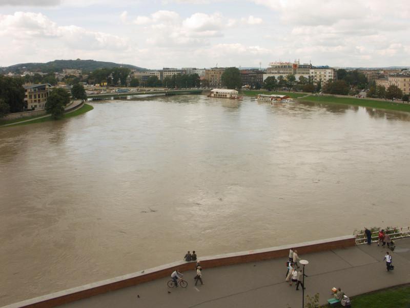 Vistula, Weichsel, Wisla, Cracow (09-2007)<br /> Konica Minolta Dimage A2