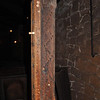 The measurement post for carts of charcoal at the Cornwall Iron Furnace