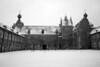 Arenberg Castle yard, Leuven, Belgium<br /> Sigma DP1s, black & white conversion