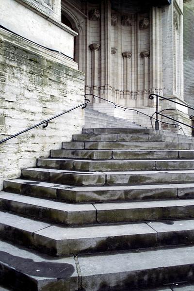 Sint Pieter main entrance, Leuven, Belgium<br /> Sigma DP1s