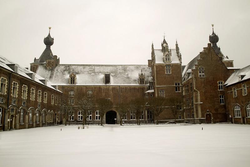 Arenberg Castle yard, Leuven, Belgium<br /> Sigma DP1s