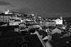 Night View in Lisbon (Monochrome)