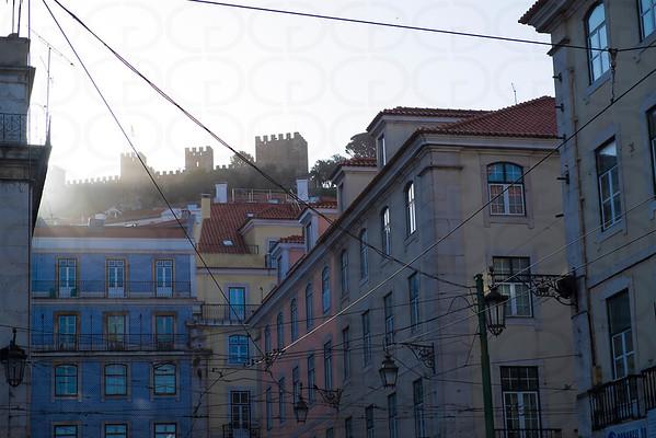 Light Breaks Over Lisbon