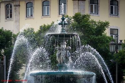 Fountain in Lisbon