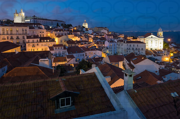 Night View in Lisbon
