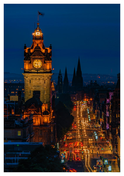 Princes Street, Edinburgh, Scotland.
