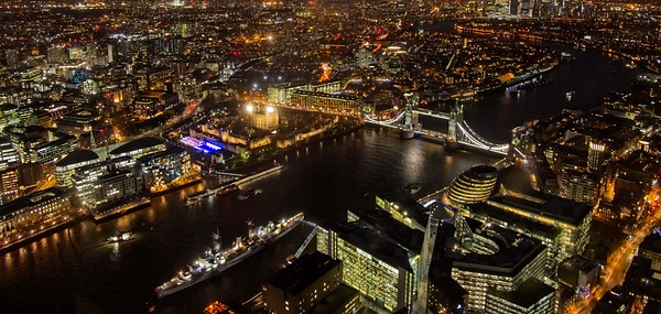 City of London, view from the Shard 2018