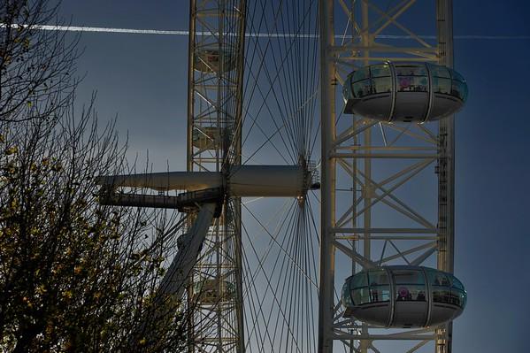 London Eye, South Bank.