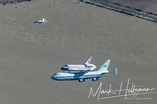 Space Shuttle Endeavour in Palmdale, CA.