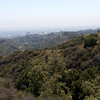 overling griffith park towards LA
