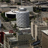 The Capitol Records Tower in Hollywood