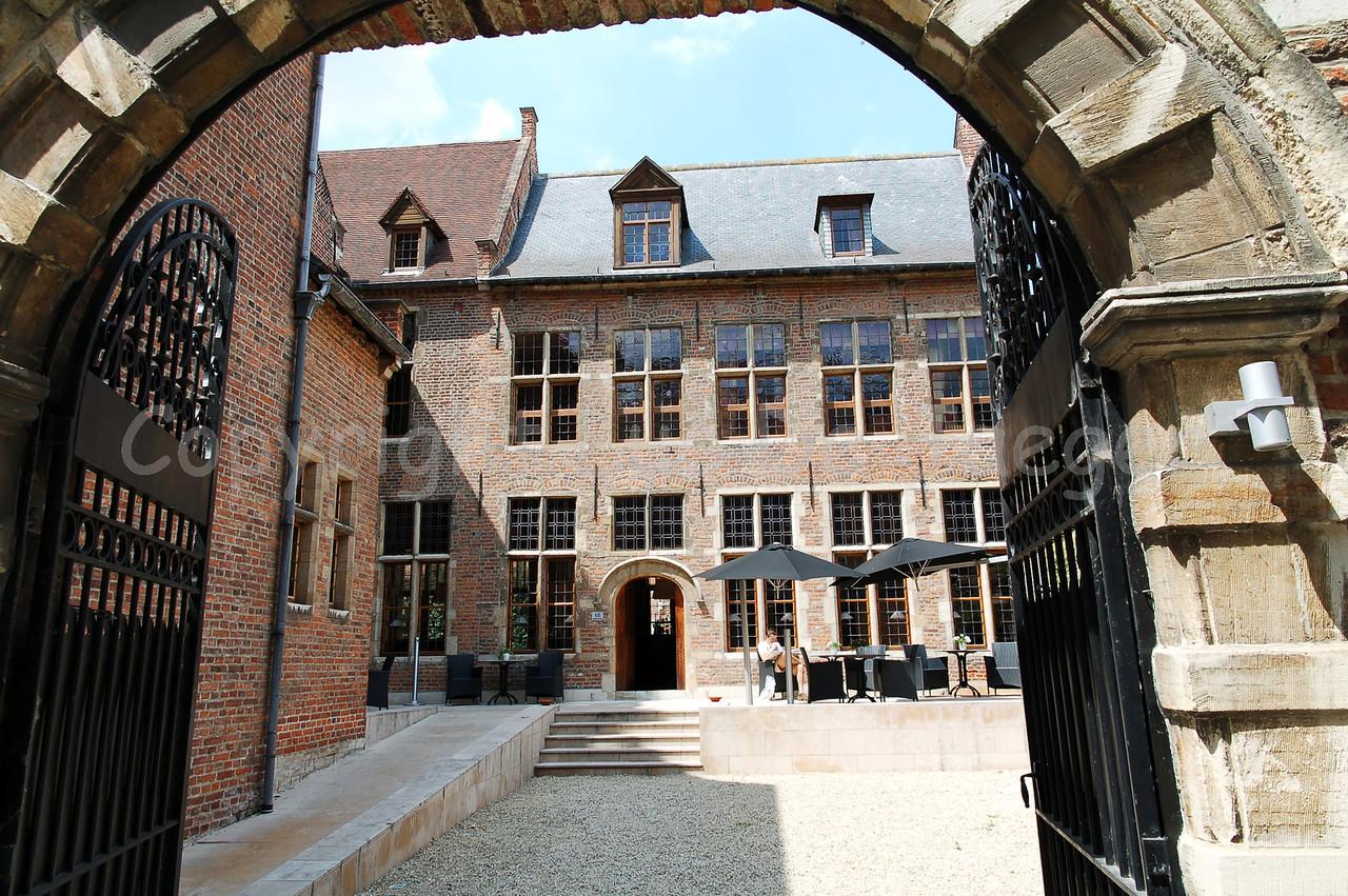 The klooster hotel in Louvain (Leuven), Belgium.