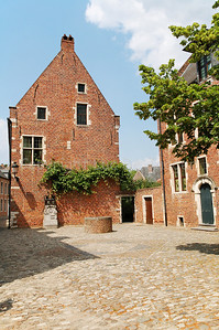 The Great Beguinage in Louvain (Leuven), Belgium.
