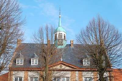 The City Hall of Maaseik in Belgium.