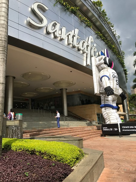 Santa Fe Mall in Medellin
