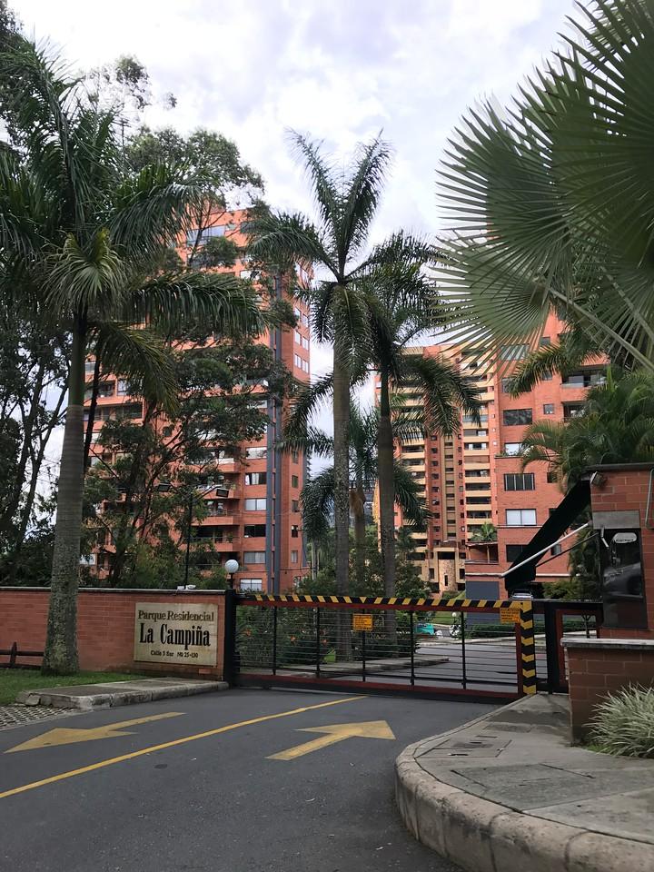 Entry to the Campiña neighborhood