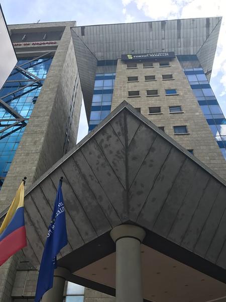 Hotel Porton Medellin is tied to the Banco Av Villas