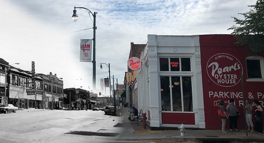 Before & After: Memphis' South Main Historic District