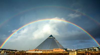 bass pro shops pyramid rainbow