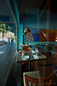 How about some nice Indian Cuisine with a view of the street?