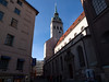 St. Peter's Church, Munich<br /> <br /> Olympus E-600 & Zuiko 12-60/2.8-4.0