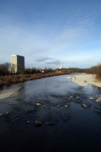 Isar, Flaucher, Thalkirchen, Munich<br /> Konica Minolta Dynax 7d