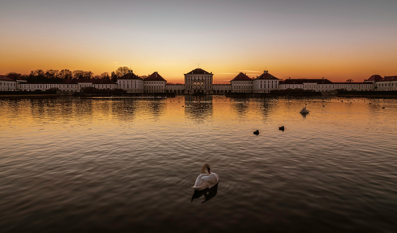 Nymphenburg Sunset I