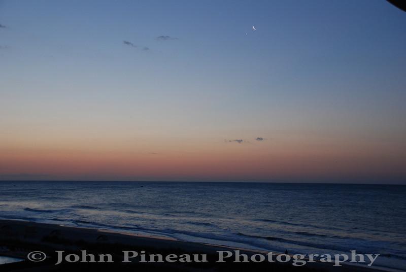 Sunrise over Myrtle Beach, SC