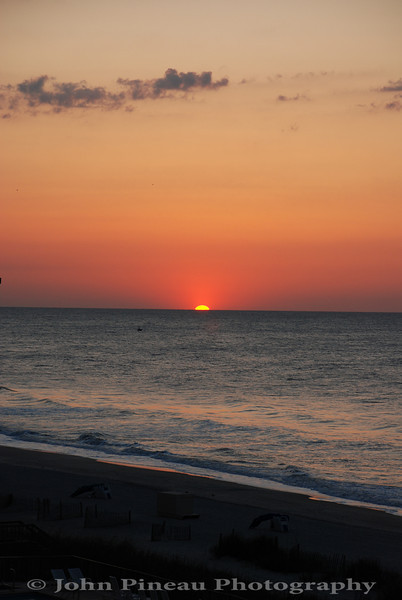 Sunrise over Myrtle Beach, SC