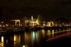 Amsterdam: CK Dependance Hermitage Museum corner Herengracht and Amstel and Bridge over Nieuwe Herengracht.