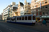 Amsterdam: Light rail transit on Damrak